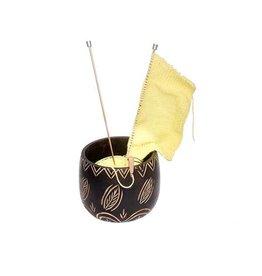 Knitters Pride KP Yarn Bowl - Leafy