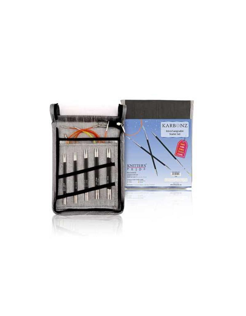 Knitters Pride KP Karbonz Set (Normal IC) - Set of 5 - Free Shipping