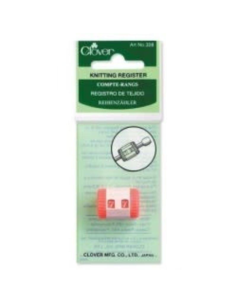 Clover CLO Knit Register