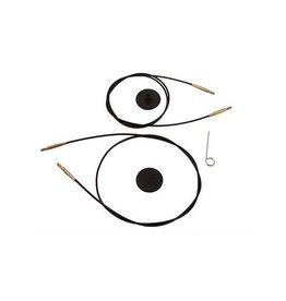 "Knitters Pride KP Black Gold cord - 11"" (28 cm to make 50 cm/ 20"")"