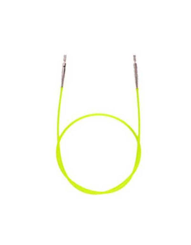 """Knitters Pride KP Neon Green cord - 14"""" (35 cm to make 60 cm/ 24"""")"""