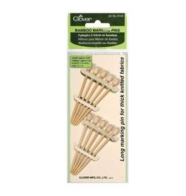 Clover CLO Bamboo Marking Pins