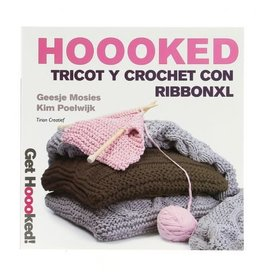 HK Book Spanish Tricot y Crochet con Ribbon XL