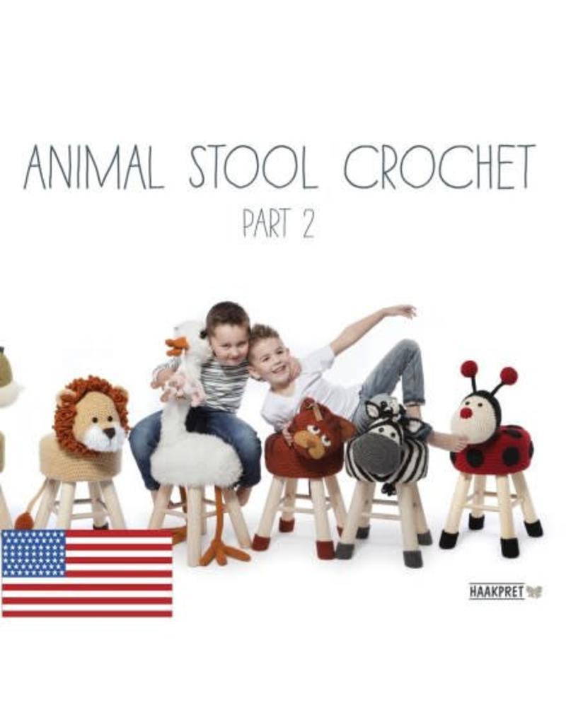 Haakpret HAK Animal Stool Crochet Part 2