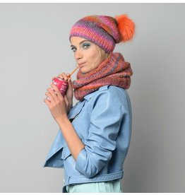 Phildar France PATTERN HAT & SNOOD WITH MIKADO