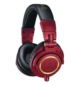 Audio Technica M50X Special Edition Red Headphones