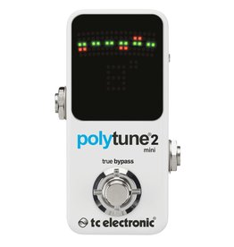 TC Electronics Polytune 2 Mini (White)