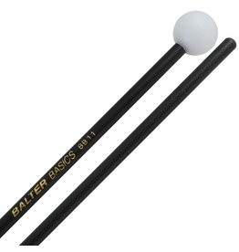 Mike Balter Mike Balter Basics BB11 Medium Hard Poly Bell Mallets<br /> MIKE BALTER BASICS MEDIUM HARD POLY BELL MALLETS