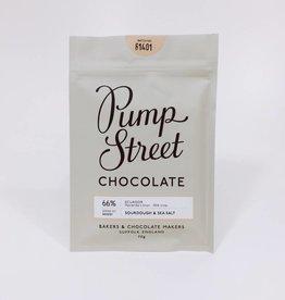 Pump Street Chocolate Pump Street sourdough & Sea Salt 66%