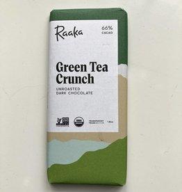 Raaka Raaka Green Tea Crunch