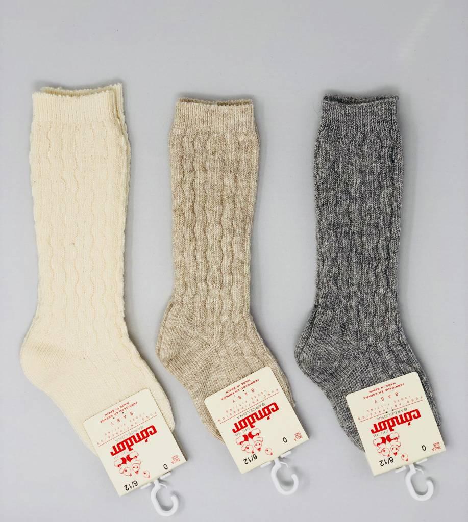 Condor Cable Design Knee Sock Toetally You