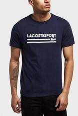 LACOSTE LACOSTE APPAREL RETRO LOGO TEE