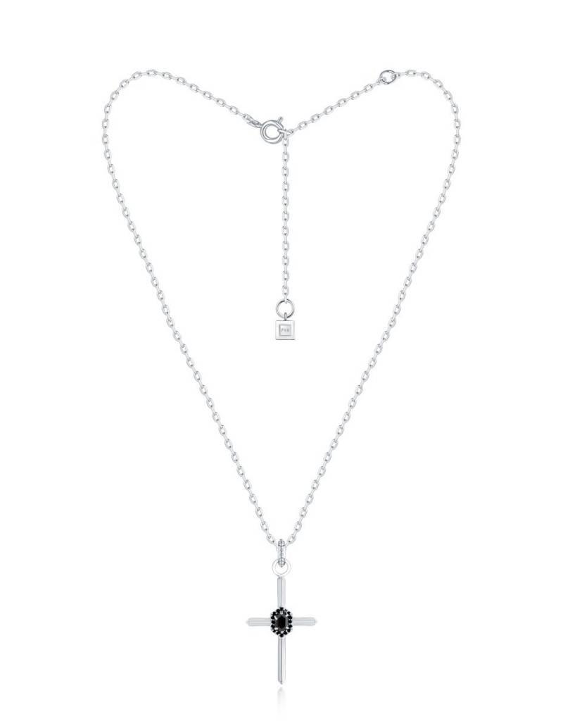 F+H JEWELLERY F+H ELISA CROSS NECKLACE