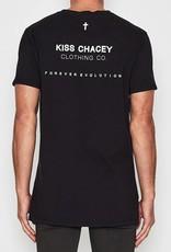 KISSCHACEY KISS CHACEY SIREN STEP HEM TEE