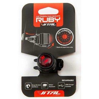 Vital Vital Luz Trasera Roja RC100 USB