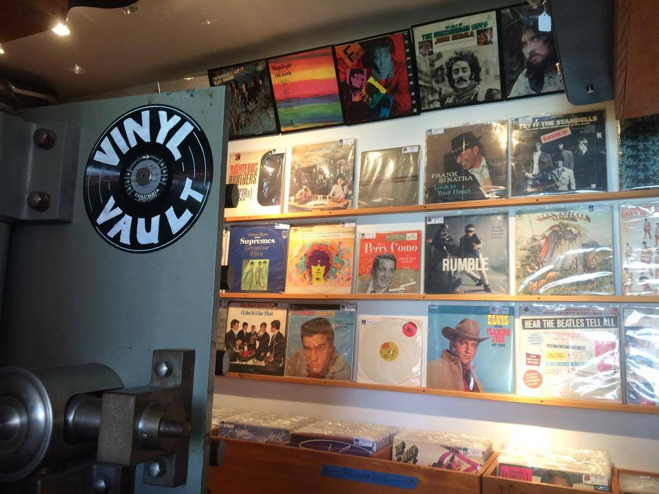Vinyl Record Vault