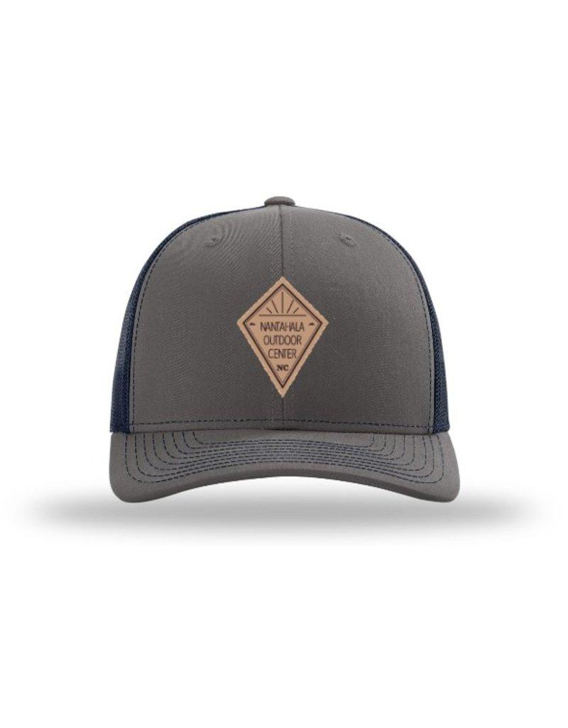 NOC NOC Leather Diamond Hat