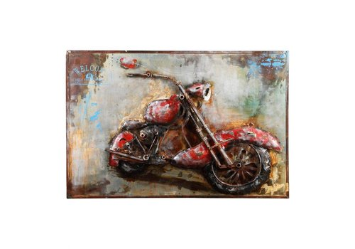 MOTORCYCLE MANIA WALL DECOR