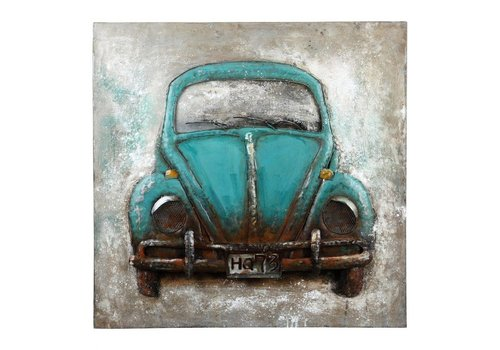 BLUE BEETLE WALL DECOR