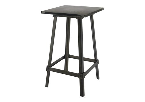 AMELIE BISTRO BAR TABLE ANTIQUE BLACK