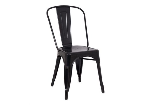 TERRENCE DINING CHAIR BLACK