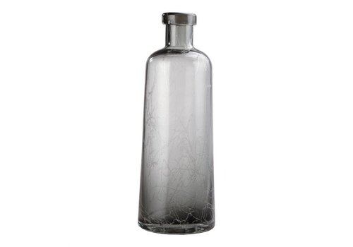 AHAB BOTTLE VASE GREY