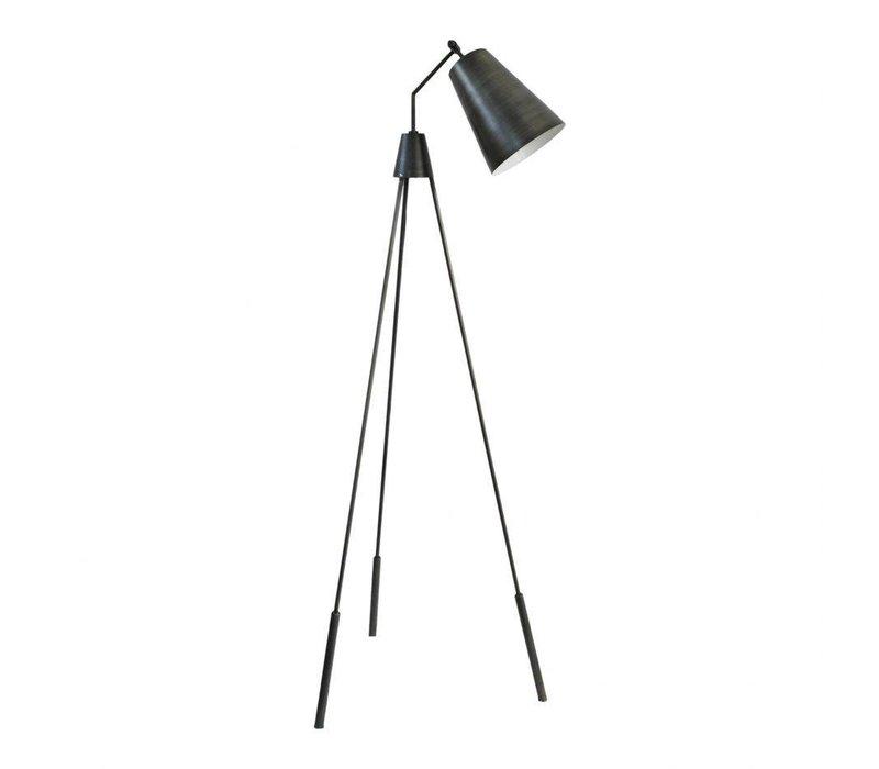 AMATO FLOOR LAMP SILVER