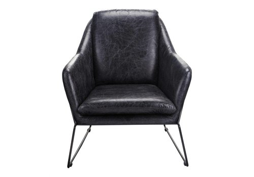 GREER CLUB CHAIR BLACK