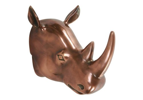 CLARA RHINO WALL DECOR COPPER