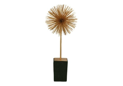 STARBURST SCULPTURE ON STAND - SMALL