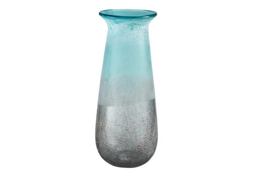 DYAD VASE BLUE TALL