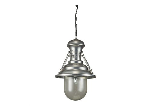 BRANDT PENDANT LAMP PEWTER