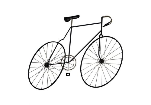 MCMILLAN BICYCLE WALL ART BLACK