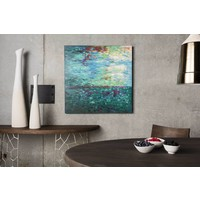 BLUE WATER WALL DECOR