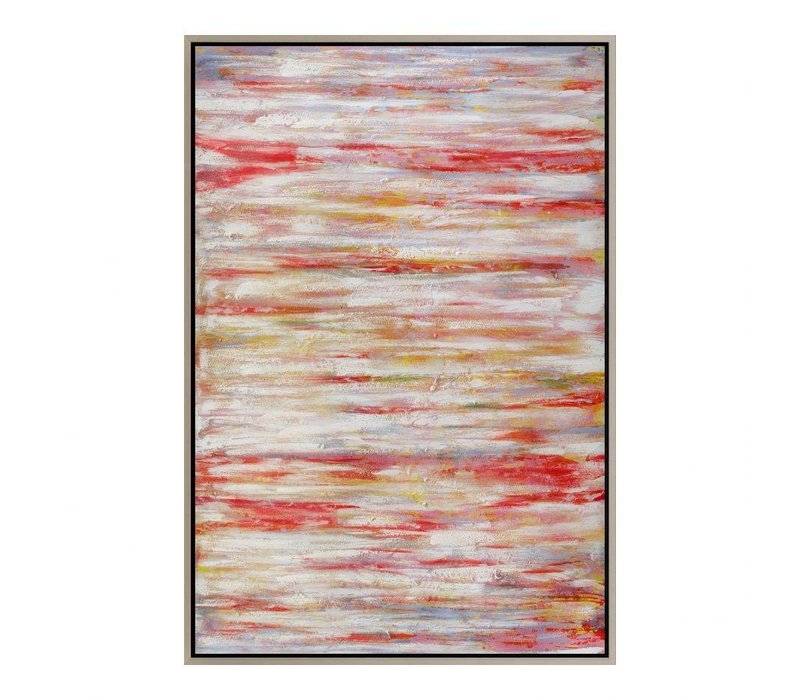 CORAL COURSE WALL DECOR W/FRAME
