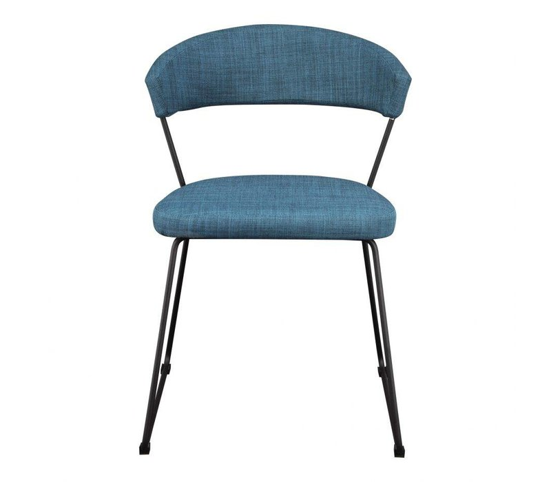 ADRIA DINING CHAIR BLUE