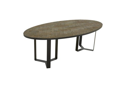 HERITAGE OVAL DINING TABLE