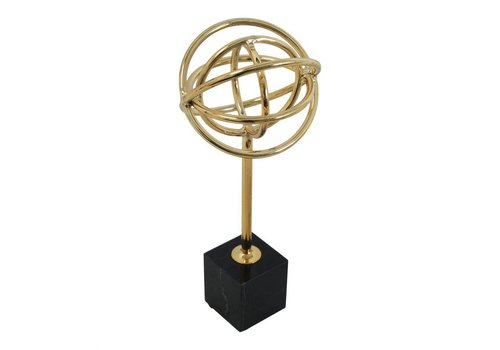 ATOMIC TABLE TOP DECOR GOLD