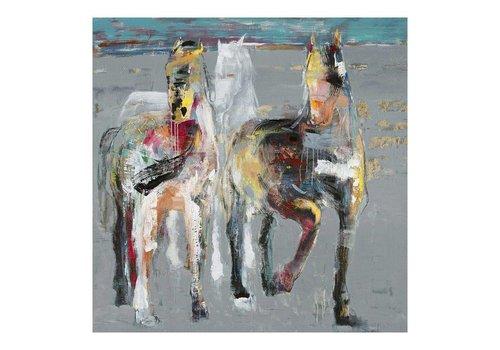 WILD HORSES WALL DECOR
