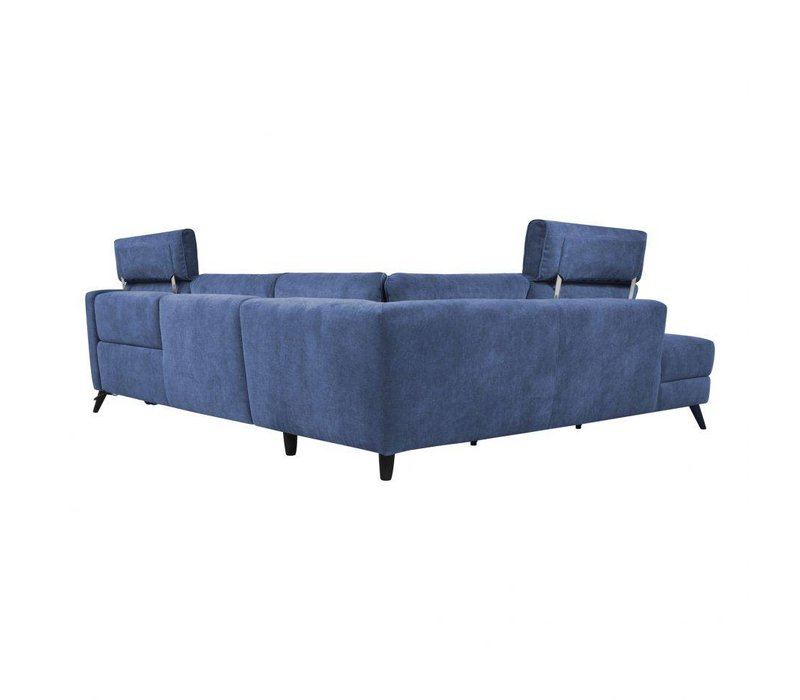 BEAUMONT POWER SECTIONAL LEFT NAVY