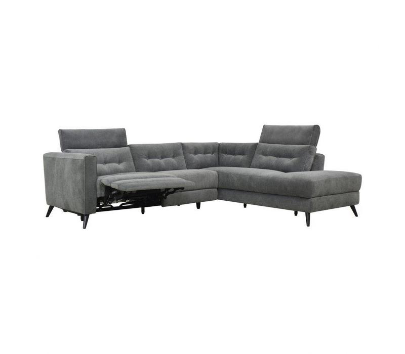 BEAUMONT POWER SECTIONAL RIGHT DARK GREY