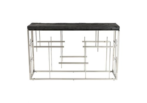MORPHEUS CONSOLE TABLE CHARCOAL