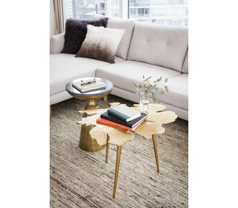 AMOEBA SIDE TABLE GOLD