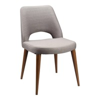 ANDRE DINING CHAIR LIGHT BROWN