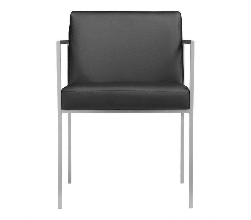 CAPO ARM CHAIR BLACK