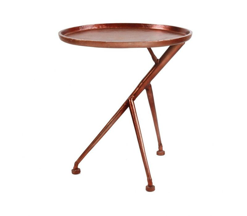 CONDUCTOR SIDE TABLE BRONZE