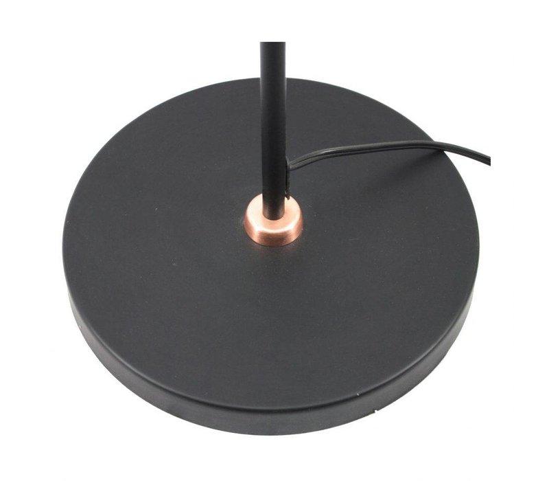 ALVA FLOOR LAMP BLACK LARGE