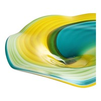 BLUE CURL WALL PLATE