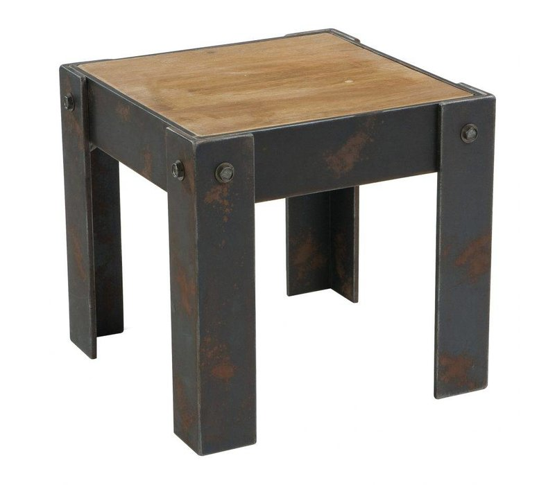 BOLT END TABLE NATURAL