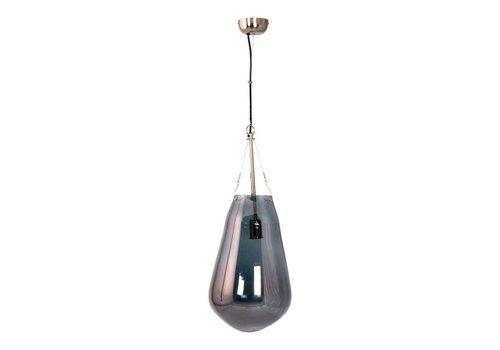 RAINDROP PENDANT LAMP LARGE BLUE